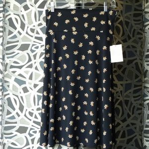 NWT AZURE skirt from LuLaRoe RACCOON faces